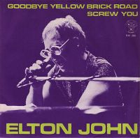 Cover Elton John - Goodbye Yellow Brick Road