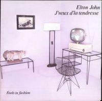 Cover Elton John - J'veux d'la tendresse