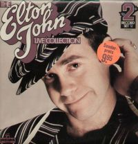 Cover Elton John - Live Collection