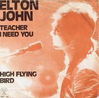 Cover Elton John - Teacher I Need You