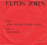 Cover Elton John - Who Wears These Shoes?