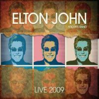 Cover Elton John And His Band - Live 2009