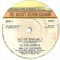 Cover Elton John & Millie Jackson - Act Of War