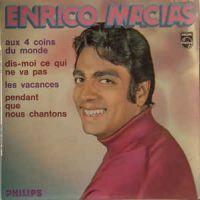 Cover Enrico Macias - Aux 4 coins du monde