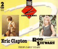 Cover Eric Clapton / Rod Stewart - Their Early Years