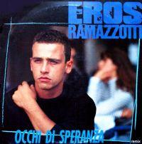 Cover Eros Ramazzotti - Occhi di speranza