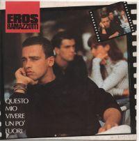Cover Eros Ramazzotti - Questo mio vivere un po' fuori