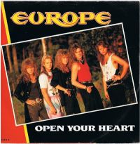 Cover Europe - Open Your Heart