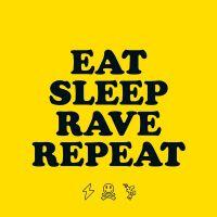 Cover Fatboy Slim & Riva Starr feat. Beardyman - Eat Sleep Rave Repeat