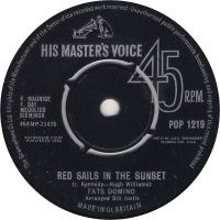 Cover Fats Domino - Red Sails In The Sunset