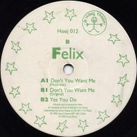 Cover Felix - Don't You Want Me
