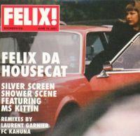 Cover Felix Da Housecat - Silver Screen - Shower Scene