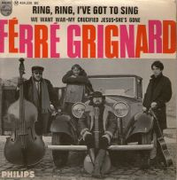 Cover Ferre Grignard - Ring, Ring, I've Got To Sing