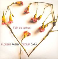 Cover Florent Pagny avec Cécilia Cara - L'air du temps