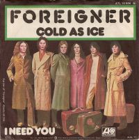 Cover Foreigner - Cold As Ice