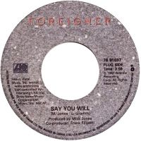 Cover Foreigner - Say You Will