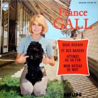 Cover France Gall - Attends ou va-t-en