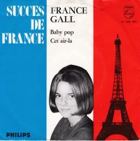 Cover France Gall - Baby pop