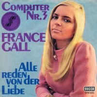 Cover France Gall - Computer Nr. 3
