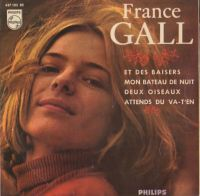 Cover France Gall - Et des baisers