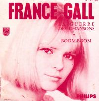 Cover France Gall - La guerre des chansons