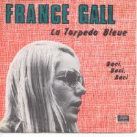 Cover France Gall - La torpédo bleue