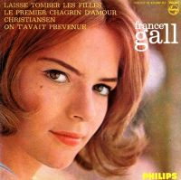 Cover France Gall - Laisse tomber les filles