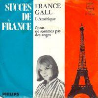 Cover France Gall - L'Amérique