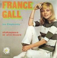Cover France Gall - Les éléphants