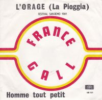 Cover France Gall - L'orage