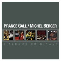 Cover France Gall / Michel Berger - 5 albums originaux