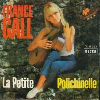 Cover France Gall avec Maurice Biraud - La petite