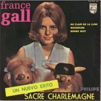 Cover France Gall et ses petits amis - Sacré Charlemagne