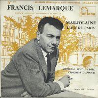 Cover Francis Lemarque - Marjolaine