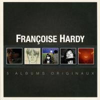 Cover Françoise Hardy - 5 albums originaux