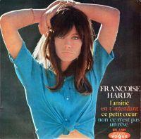 Cover Françoise Hardy - L'amitié