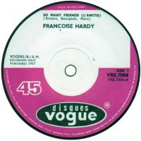 Cover Françoise Hardy - So Many Friends