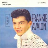 Cover Frankie Avalon - Venus