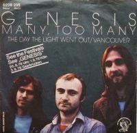 Cover Genesis - Many, Too Many