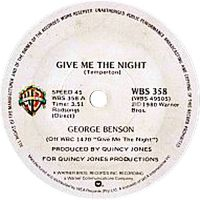 Cover George Benson - Give Me The Night
