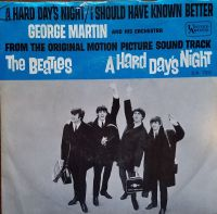 Cover George Martin And His Orchestra - A Hard Day's Night
