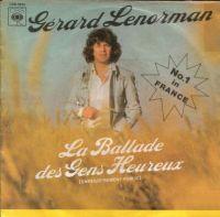 Cover Gérard Lenorman - La ballade des gens heureux