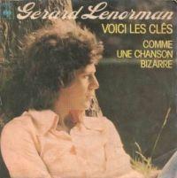 Cover Gérard Lenorman - Voici les clés