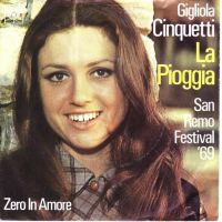 Cover Gigliola Cinquetti - La pioggia