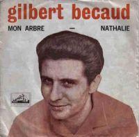 Cover Gilbert Bécaud - Nathalie