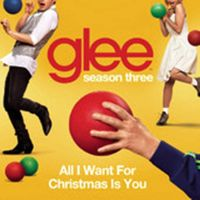 Cover Glee Cast - All I Want For Christmas Is You