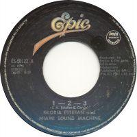 Cover Gloria Estefan And Miami Sound Machine - 1-2-3