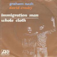 Cover Graham Nash & David Crosby - Immigration Man