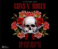Cover Guns N' Roses - Greatest Hits Live On Air 1989-'91