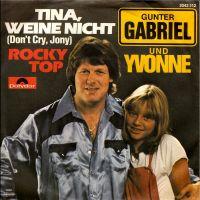 Cover Gunter Gabriel und Yvonne - Tina, weine nicht